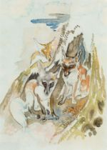 Ludwig Heinrich Jungnickel, Drei Füchse