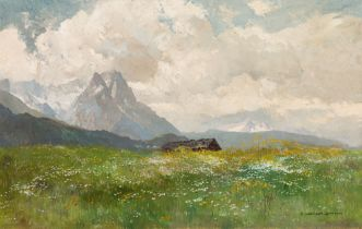 Edward Harrison Compton, Waxenstein im Wettersteingebirge