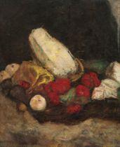 Alfred Buchta, Stillleben mit Gemüse