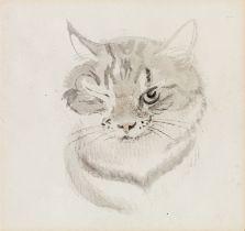 Ludwig Heinrich Jungnickel, Katzenporträt