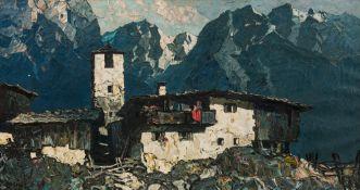 Oskar Mulley, Bergdorf