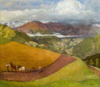 Albert Janesch, Landschaft in Tirol