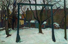 Felix Albrecht Harta, Winterlicher Garten