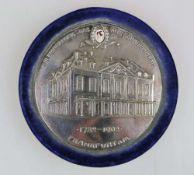 Memorabilia-Erinnerungsplakette an das Alte Schauspielhaus Frankfurt - 1782-1902.