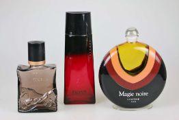 Konvolut 3 große Parfum-Flakons.