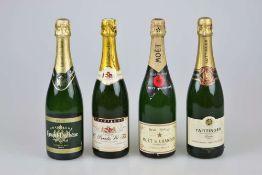 4 Flaschen Champagner.