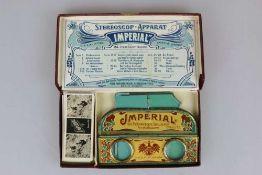 Stereoscop-Apparat ''Imperial'' um 1900.