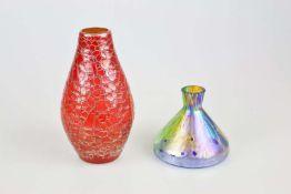 Glas- und Keramikvase
