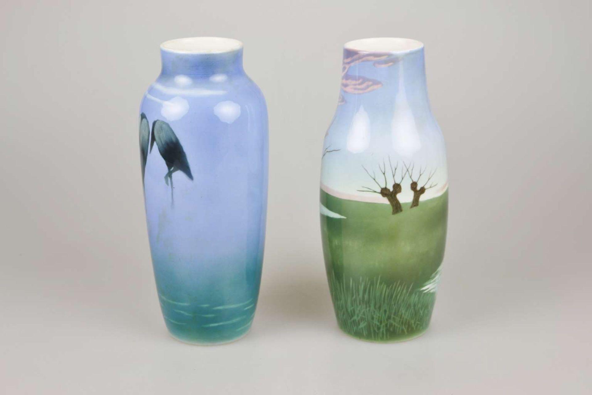 Lundström für Rörstrand, zwei Vasen - Image 2 of 4