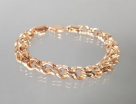 Armband, RG 585, Garibaldi-Muster, 18 cm lang, 28 g