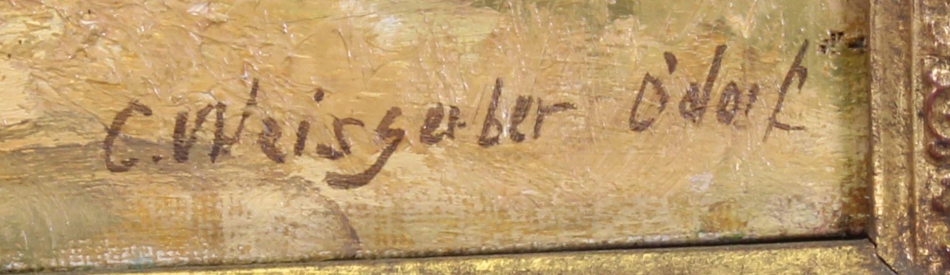 Weisgerber, Carl (Ahrweiler 1891 - 1968 Düsseldorf, deutscher Tier- und Landschaftsmaler, Schüler v - Bild 3 aus 4