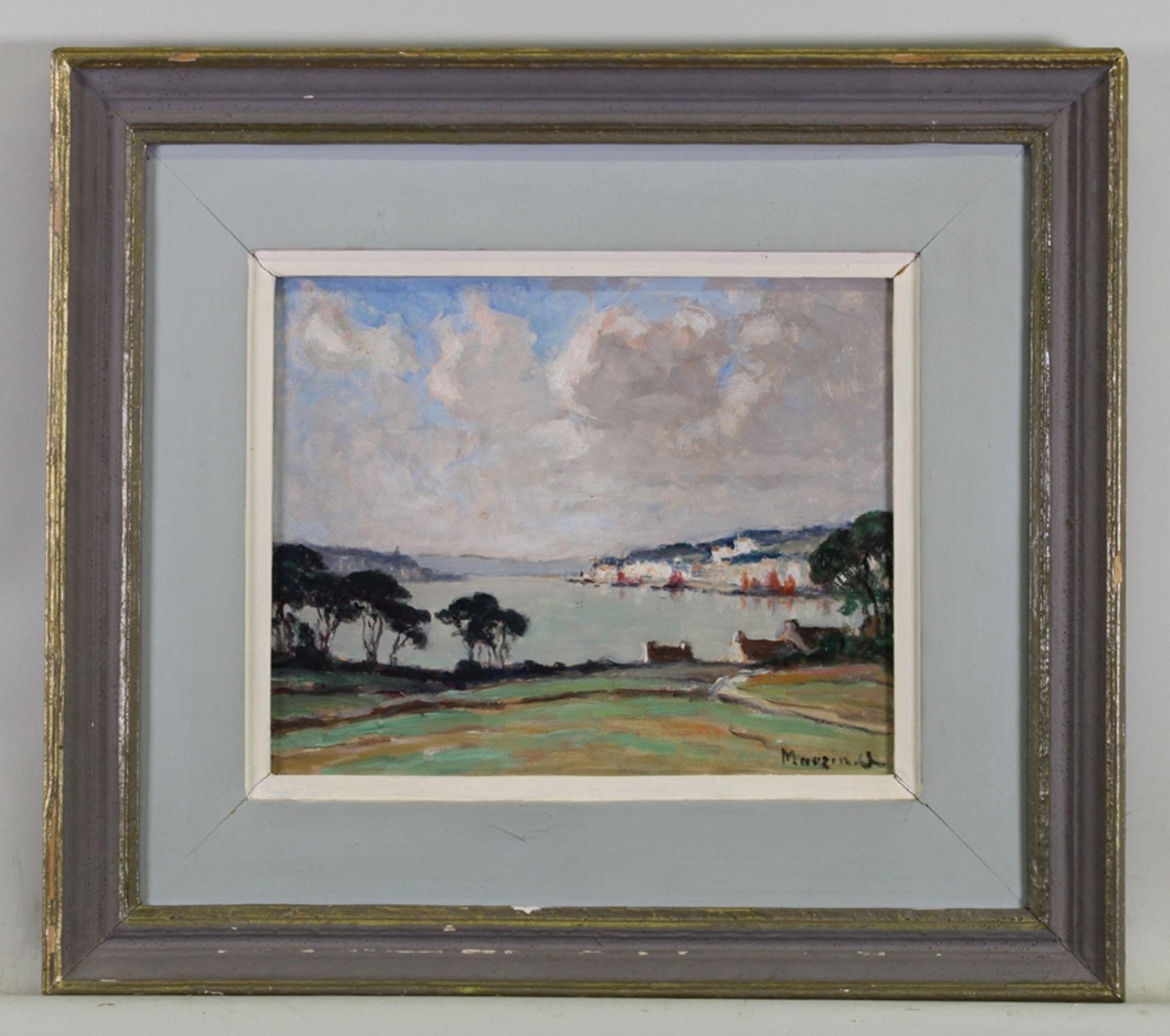 Marzin, Alfred ( Saint-Yrieix 1880-1943 Nantes, französischer Künstler, der ausschließlich Motive a - Bild 2 aus 2