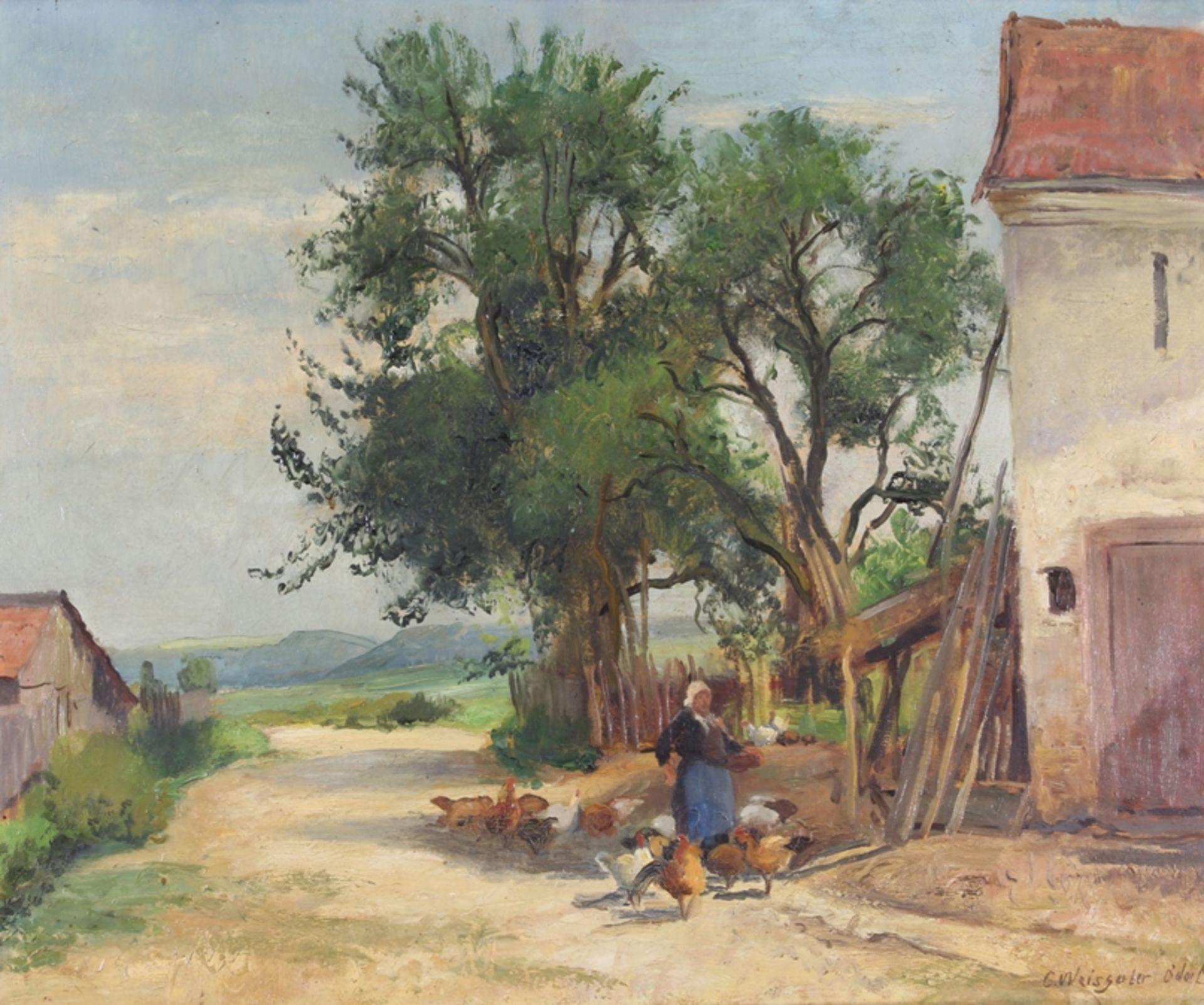 Weisgerber, Carl (Ahrweiler 1891 - 1968 Düsseldorf, deutscher Tier- und Landschaftsmaler, Schüler v