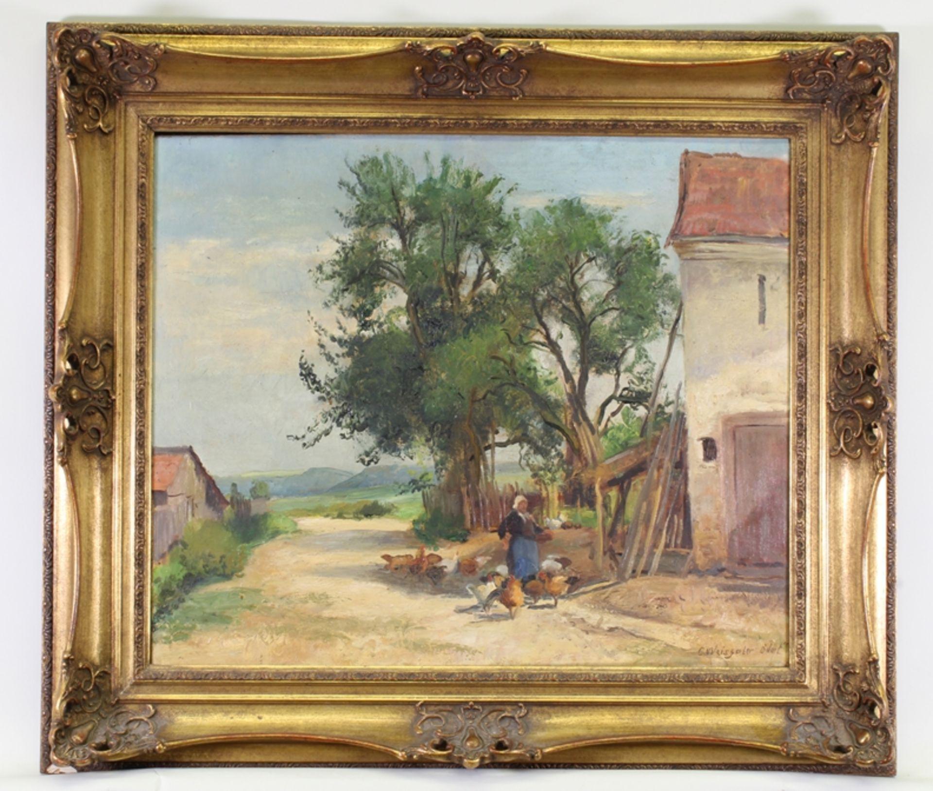 Weisgerber, Carl (Ahrweiler 1891 - 1968 Düsseldorf, deutscher Tier- und Landschaftsmaler, Schüler v - Bild 2 aus 4