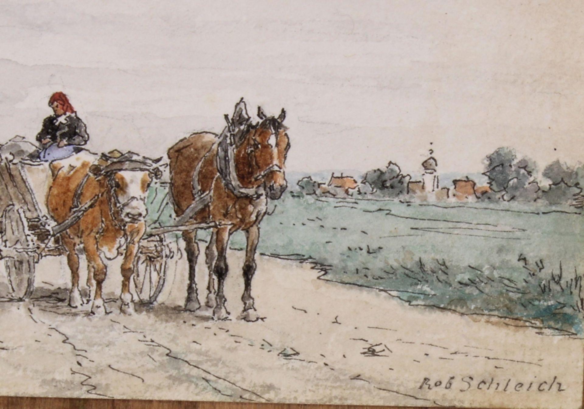 Schleich, Robert (München 1845 - 1934 ebda., Schüler Wilhelm von Diez', beeinflusst durch Eduard Sc - Bild 4 aus 5