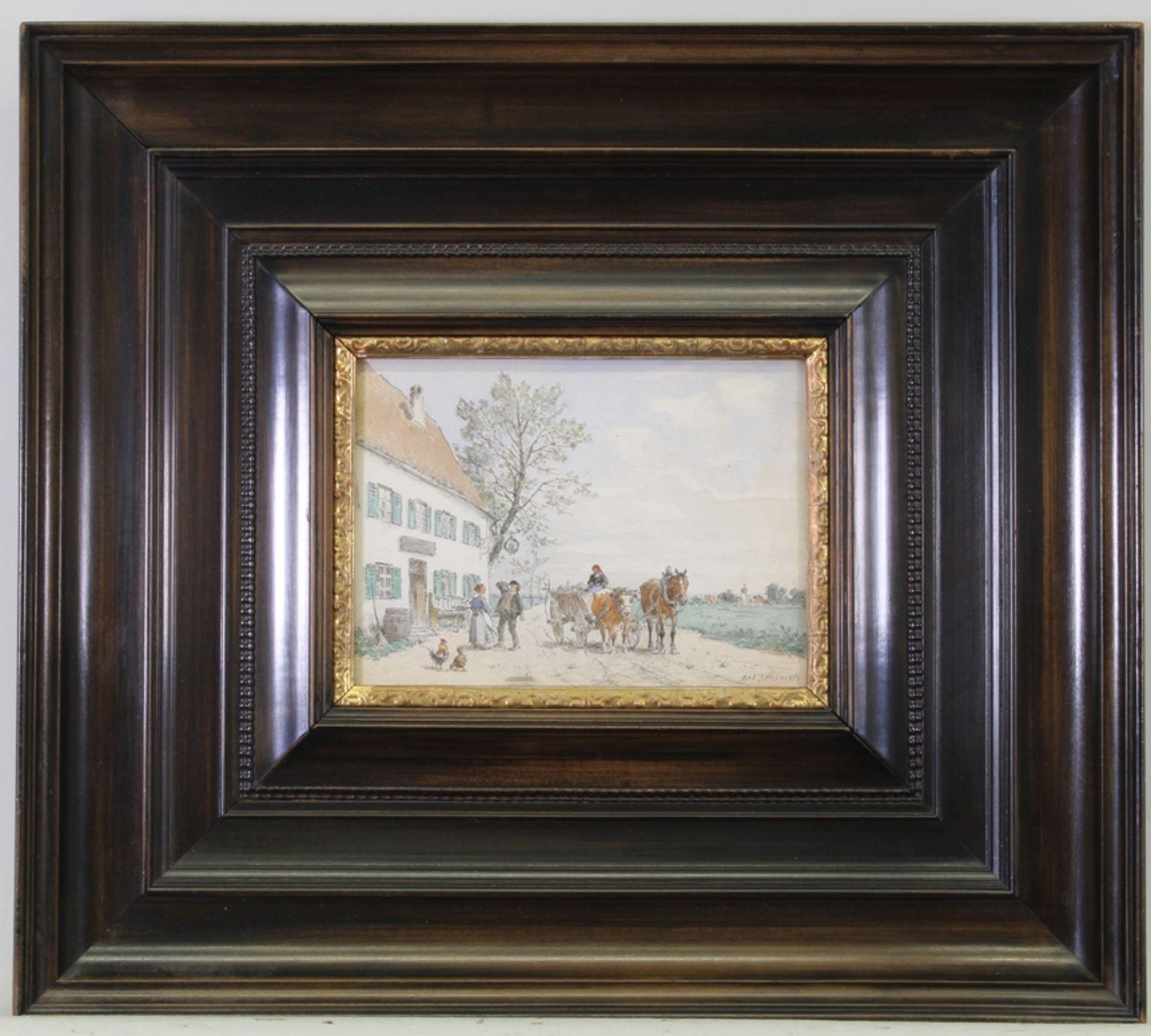 Schleich, Robert (München 1845 - 1934 ebda., Schüler Wilhelm von Diez', beeinflusst durch Eduard Sc - Bild 2 aus 5