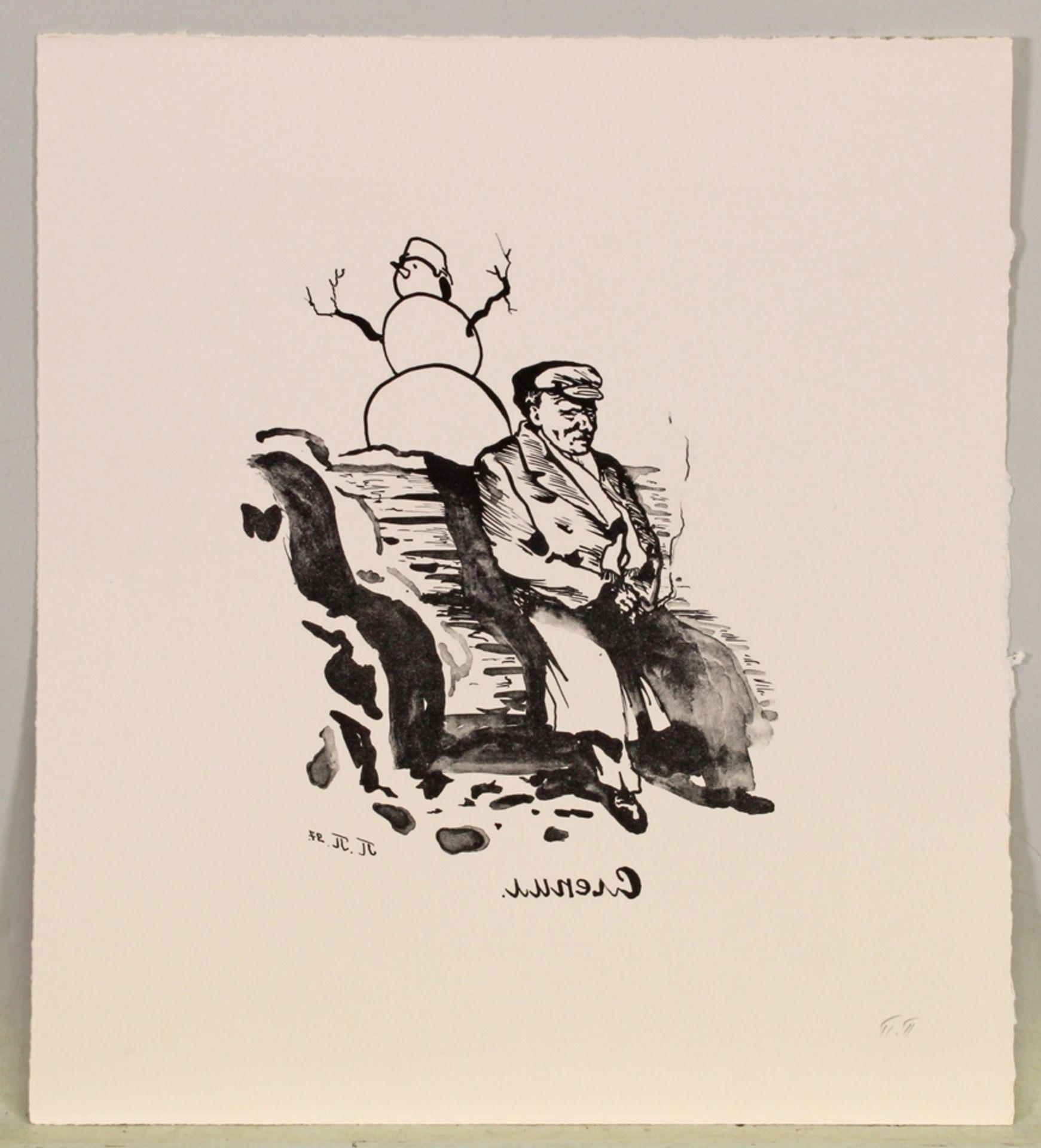 Zeitgenössische Künstler (20./21. Jh.), - Bild 3 aus 7