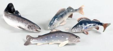 4 Fischfiguren