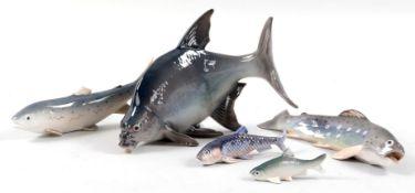 5 Fischfiguren