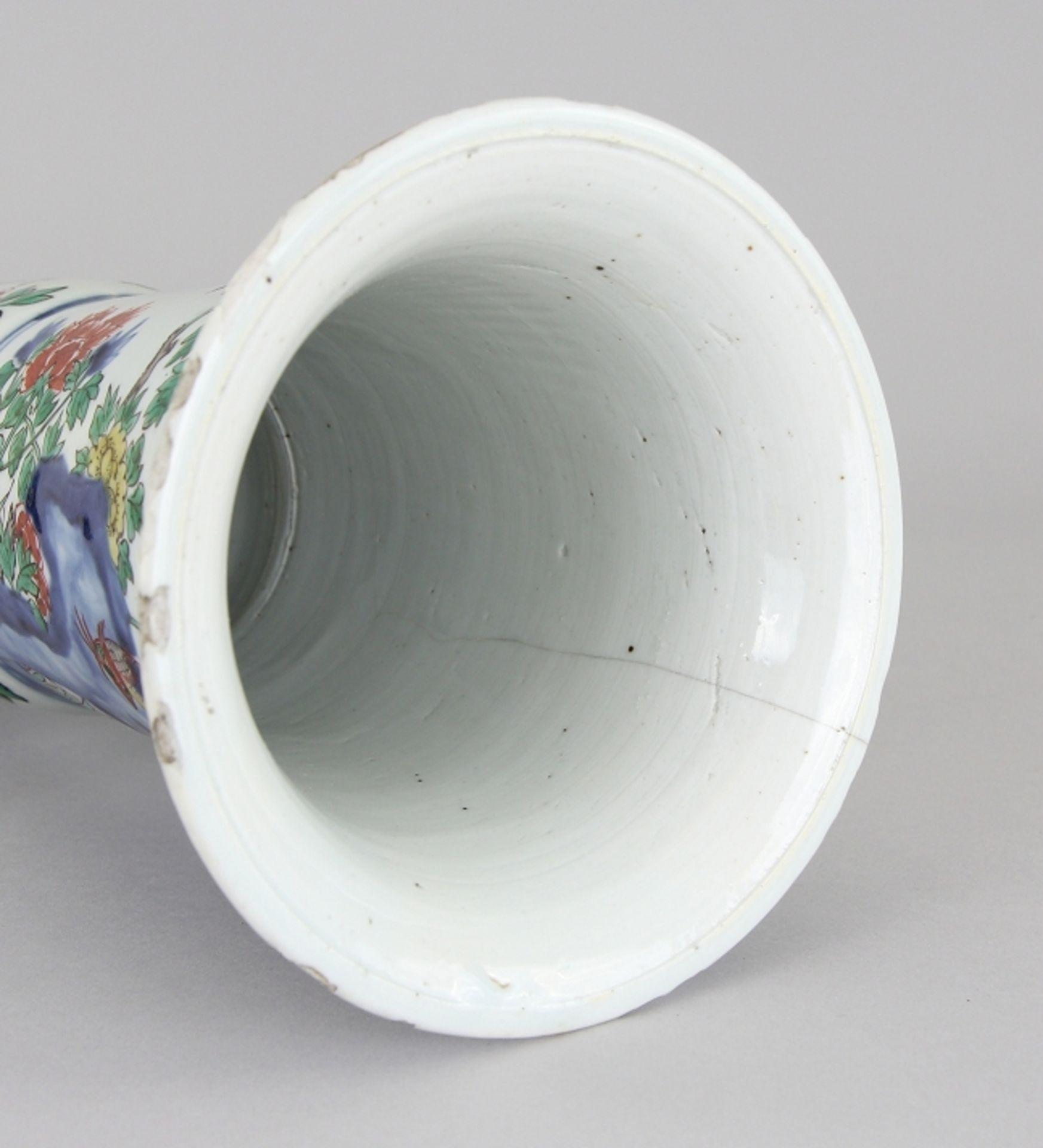 Große Wucai - Vase - Image 7 of 9