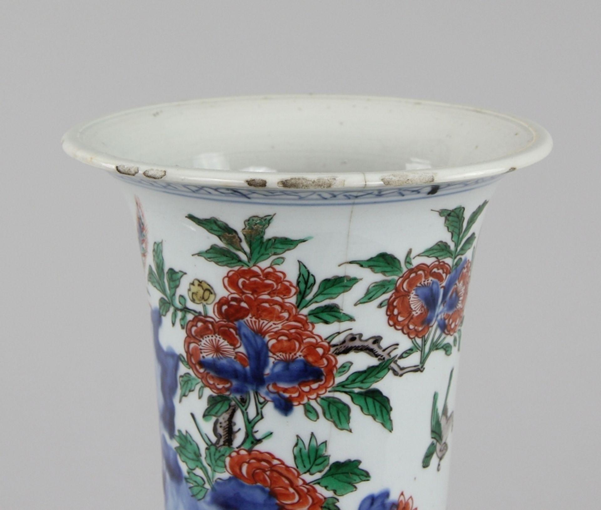 Große Wucai - Vase - Image 6 of 9