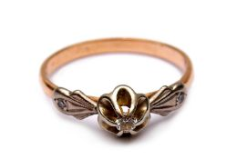 A women´s diamond ring
