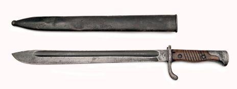 German 98/05 Mauser (Butcher) Bayonet & Scabbard