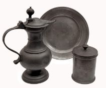 Pewter objects