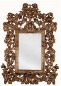 A Rococo-Style Wall Mirror