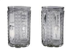 A Pair of Cut Glass Tumblers