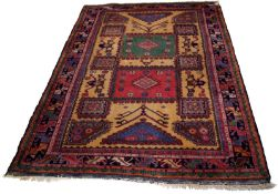 A Bergama Rug of the Holbein Type
