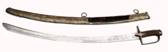 A Pattern 1792 Ufficers Sabre for Chasseurs à Cheval