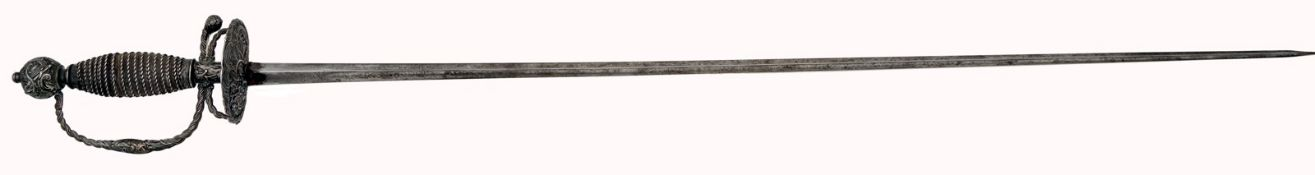 A German Silver-Hilted Officer´s Sword