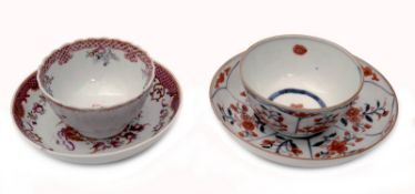 Two Tea Cups and Saucers