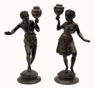 A Pair Candlestick Holders