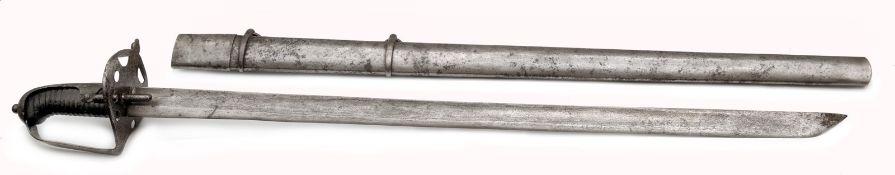 An Austrian Model 1769/75 Heavy Cavalry Sword