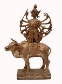 A Shiva on the Bull Nandi