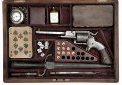 Gambling Travel Kit with Allan Wheelock Revolver