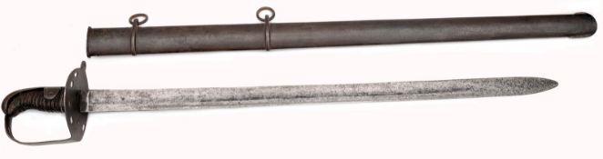 A British Pattern 1796 Heavy Cavalry Trooper´s Sword by Joseph Hadley Reddell