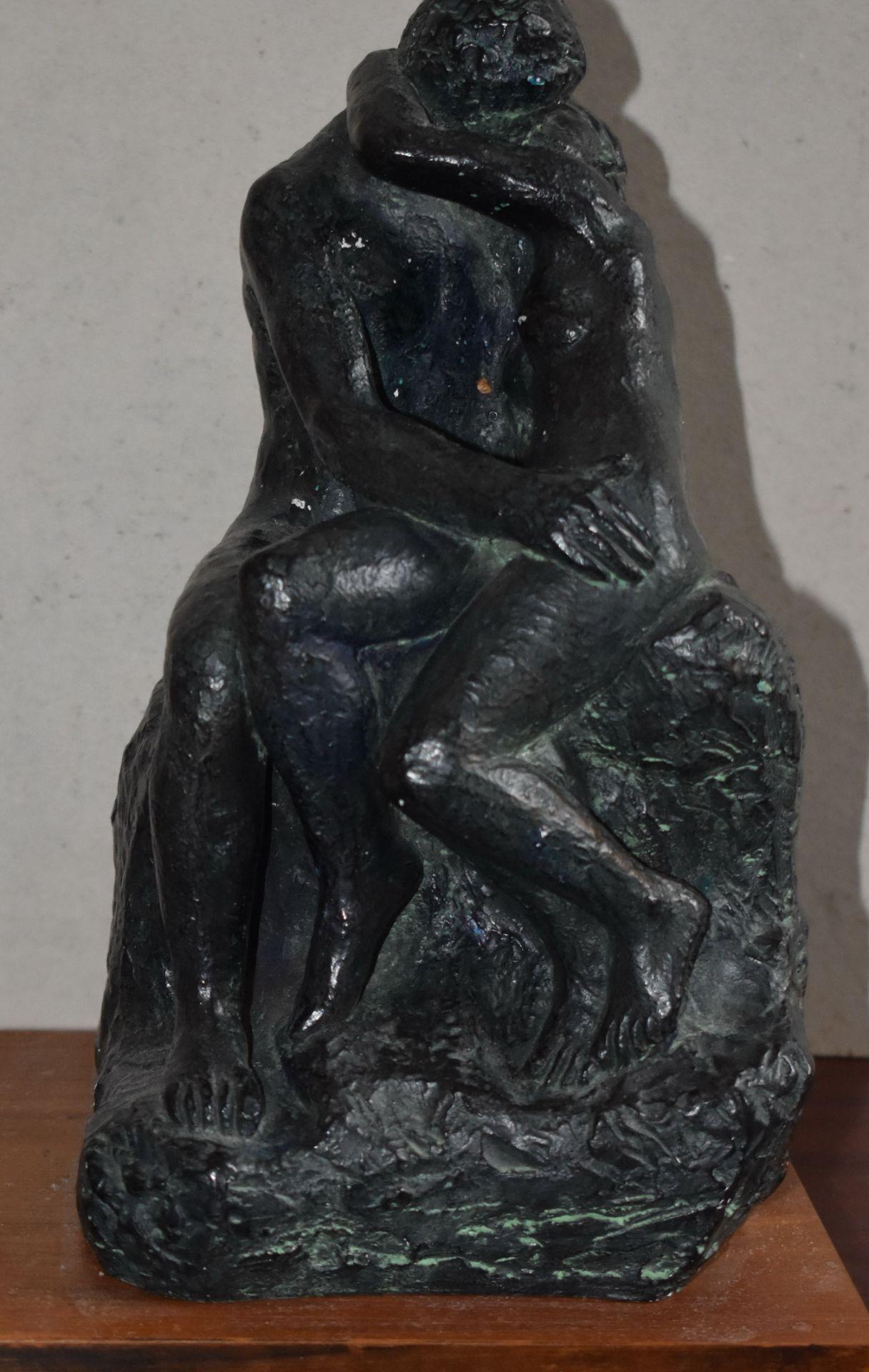 """Skulptur, Österreich um 1960, """"Liebespaar"""","""