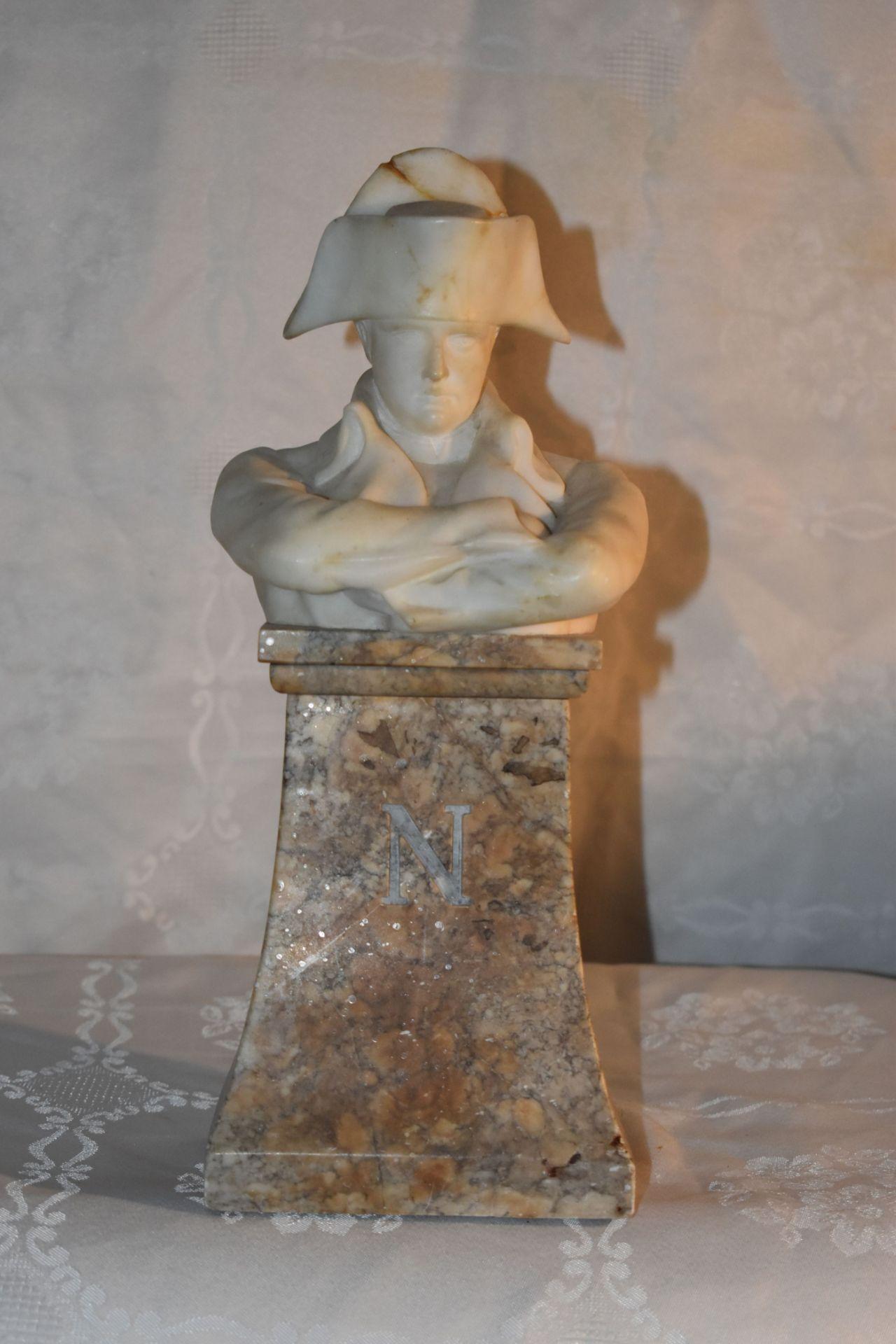 Napoleonbüste, - Bild 2 aus 2