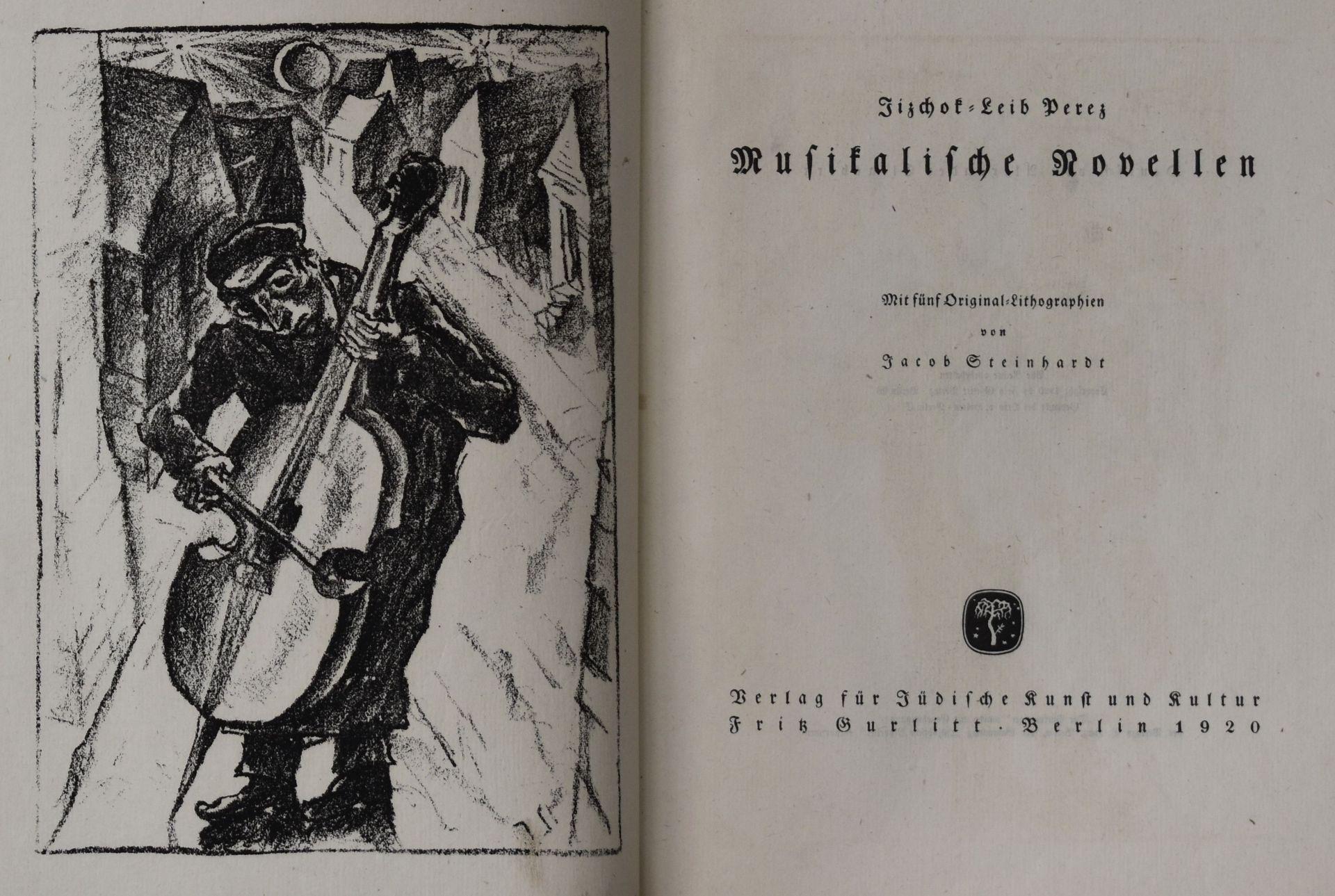"Jizchok - Leib, Perez, ""Musikalische Novellen"","