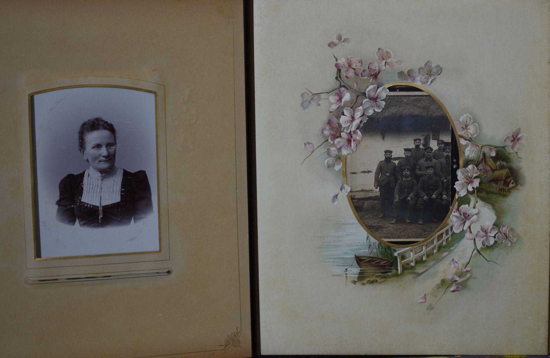 Fotoalbum, Deutsch um 1880, - Bild 2 aus 5