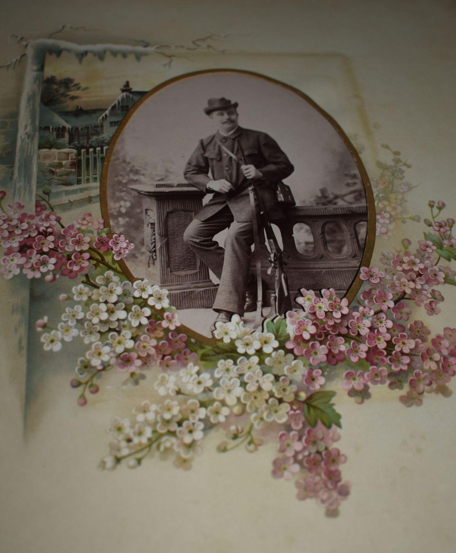 Fotoalbum, Deutsch um 1880, - Bild 5 aus 5