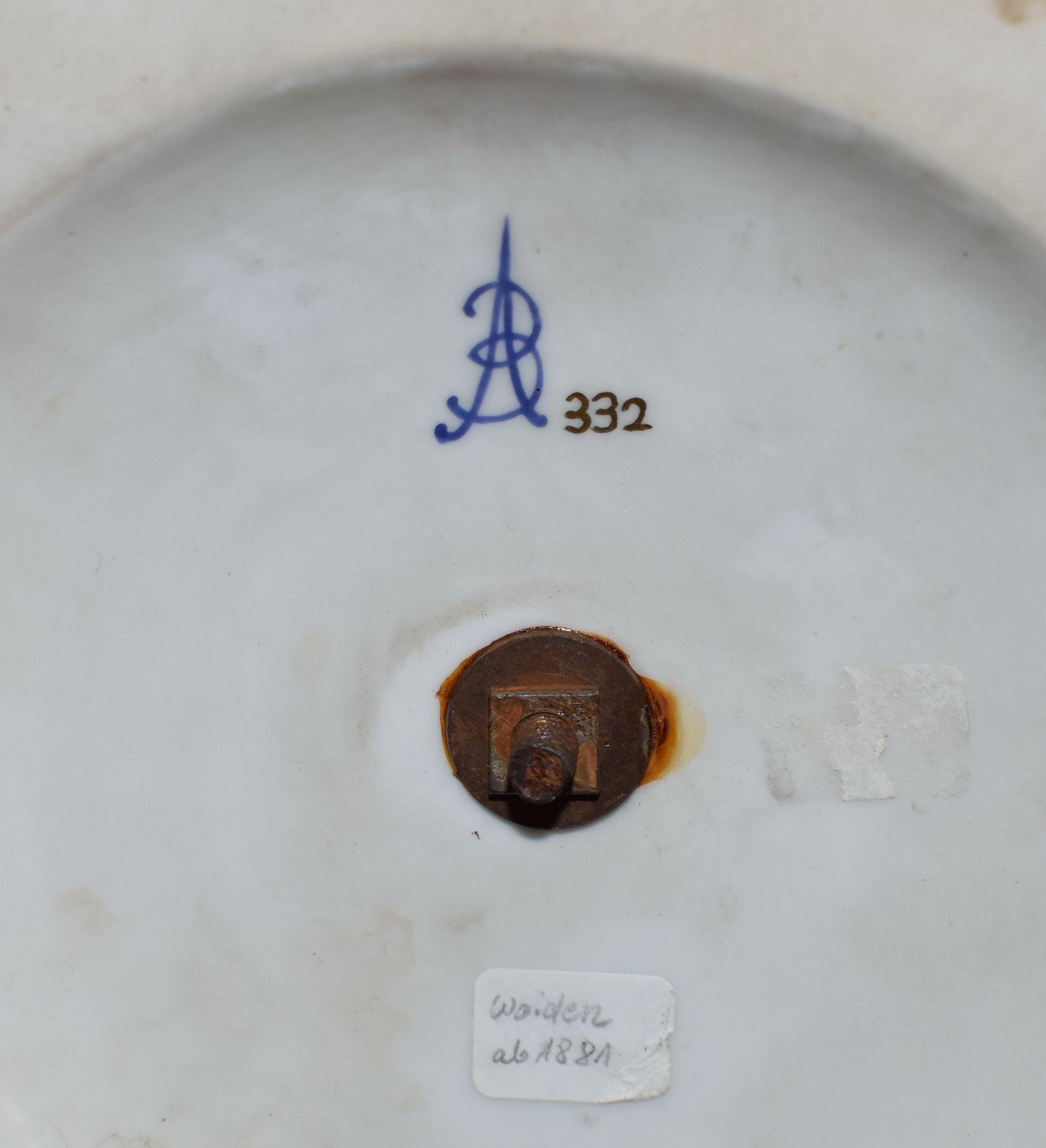 Große Porzellanvase, - Bild 3 aus 3