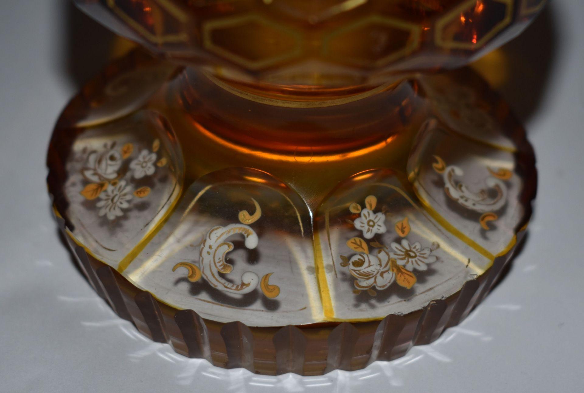 Glaspokal, - Bild 2 aus 2