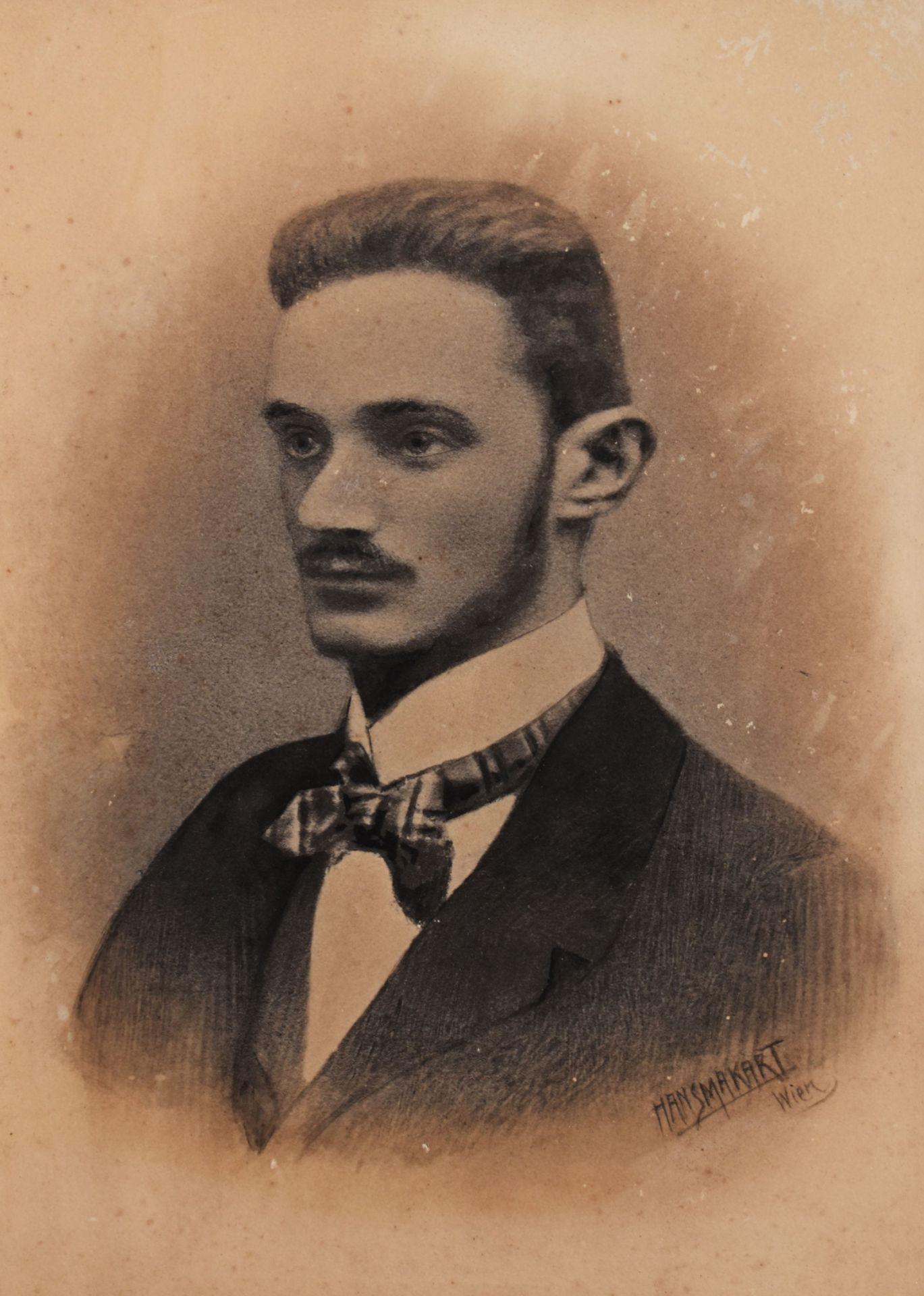 """Makart, Hans (1840 - 1884), """"Selbstportrait"""""""