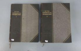 PAAR BÜCHER VON 1907: Landeskunde des Herzogtums Anhalt (Bd. 1 und 2)