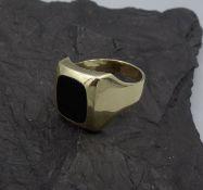 RING / SIEGELRING - 585er Gelbgold