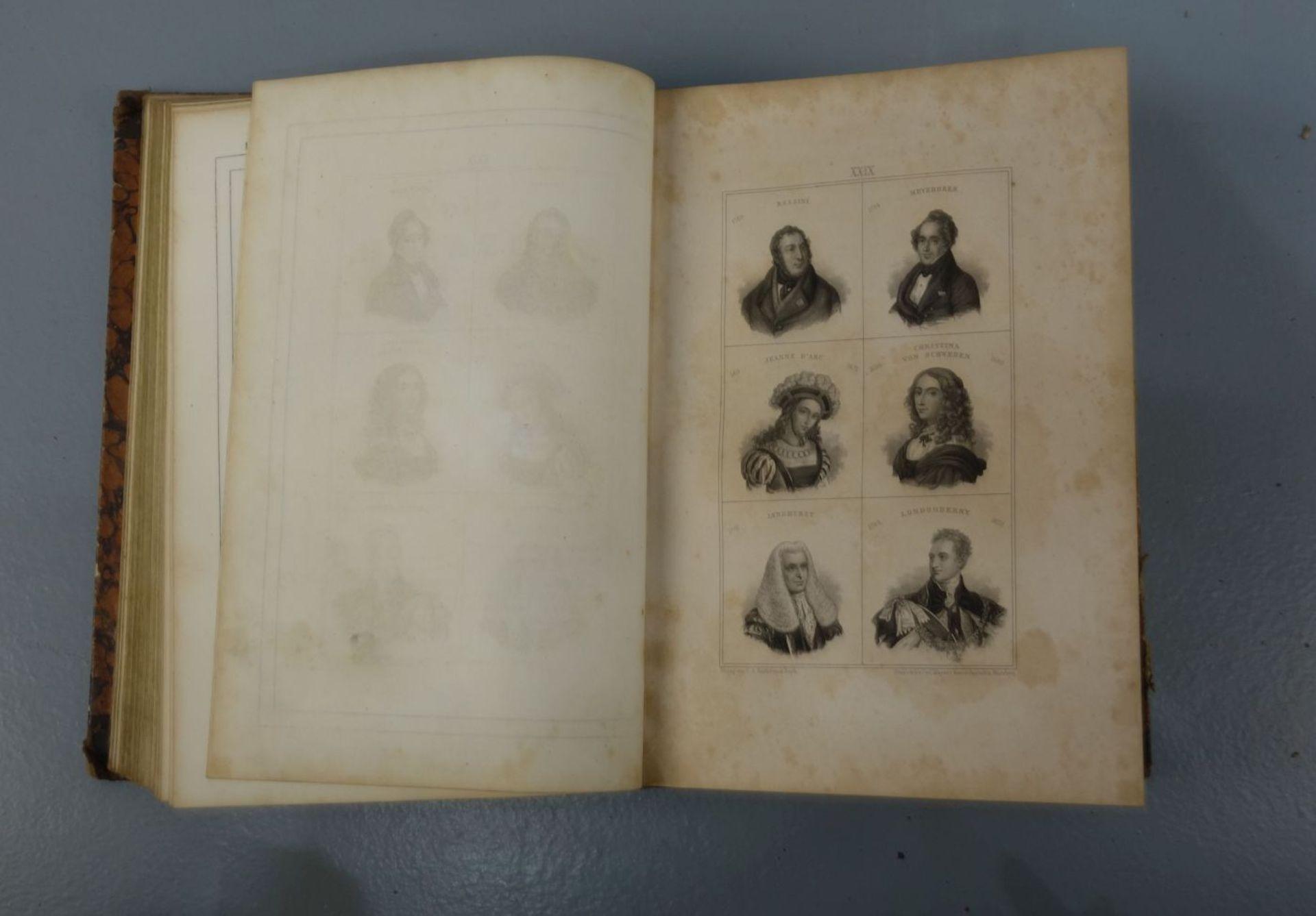 KONVOLUT BÜCHER VON 1842-1844: Der neue Plutarch (Bd. 1-3) - Image 4 of 4